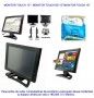 Monitor TOUCH  Marca Shark de 15""